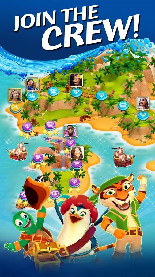 دانلود Booty Quest - Pirate Match 3 1.28.0 - بازی پازل پرطرفدار جویندگان گنج اندروید + مود