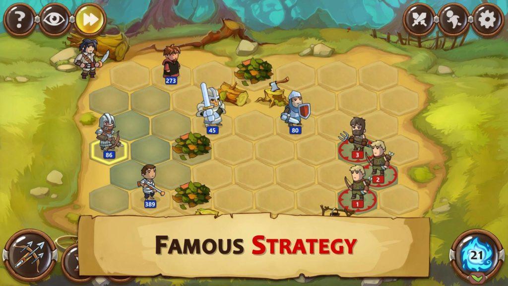 دانلود Braveland Heroes 1.44.14 - بازی استراتژی