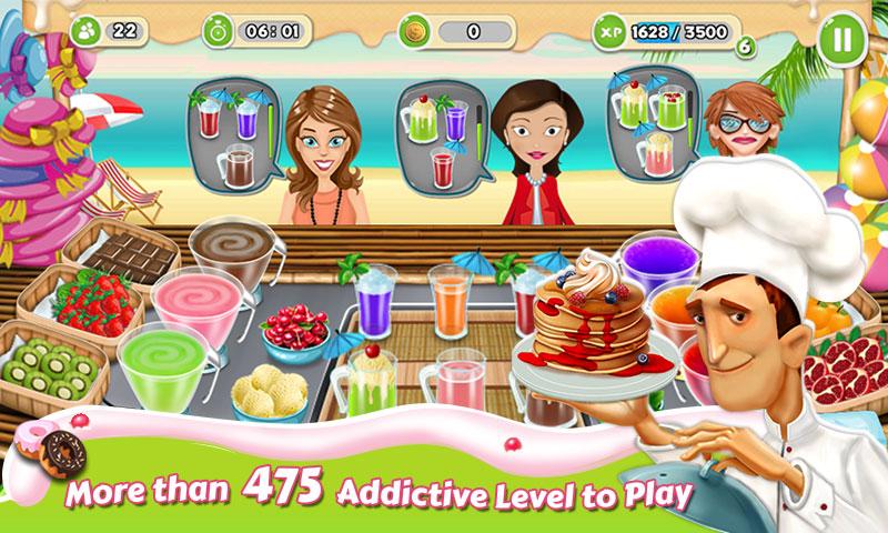دانلود Breakfast Cooking Mania 1.54 - بازی مدیریت رستوران