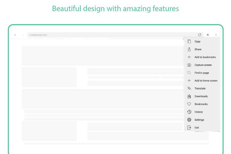 دانلود Browse Simply Gold - Fast Incognito Web Browser 11 - مرورگر وب ساده و پر امکانات طلایی اندروید !