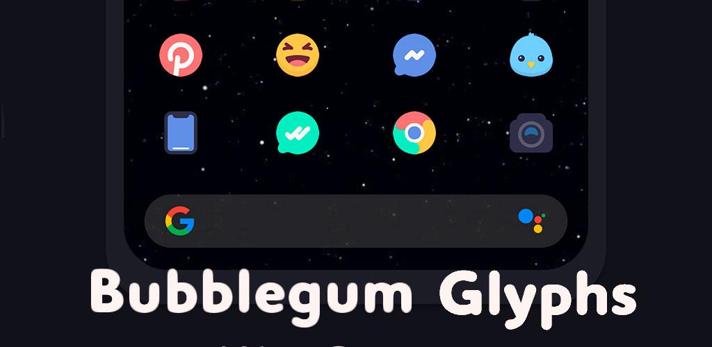 Bubblegum Glyphs