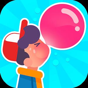 """دانلود Bubblegum Hero 1.0.7 - بازی سرگرم کننده """"قهرمان آدامس بادکنکی"""" اندروید + مود"""