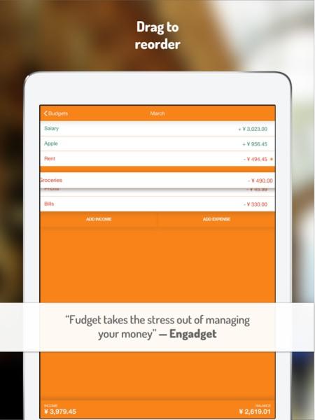 دانلود Budget Planner: Fudget Pro 1.5.3 - برنامه مدیریت امور مالی اندروید