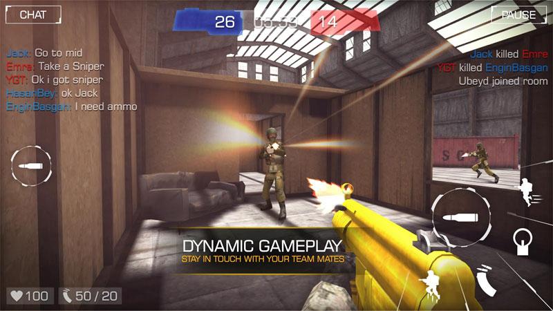 دانلود Bullet Party CS 2 : GO STRIKE 1.2.8 - بازی اکشن فوق العاده شبیه کانتر اندروید + مود