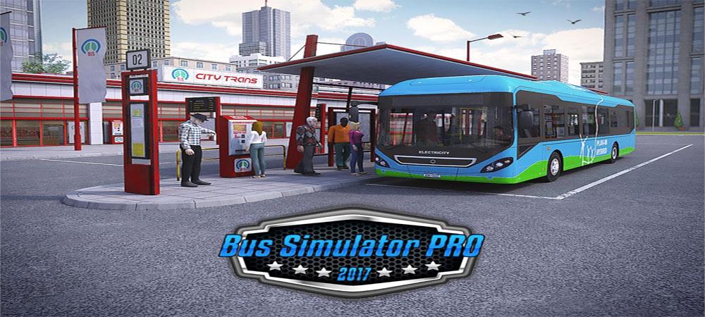 دانلود Bus Simulator PRO 2017 - بازی شبیه سازی اتوبوس 2017 اندروید + مود + دیتا
