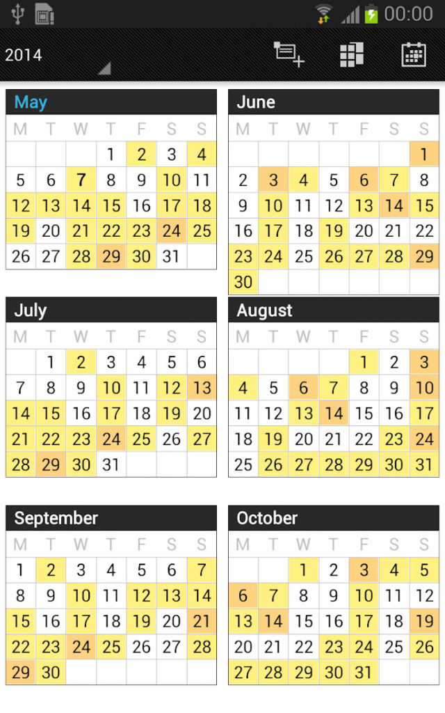 دانلود Business Calendar Pro 1.6.0.3 - تقویم زیبا و قدرتمند