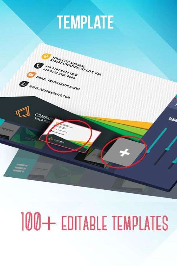 دانلود Business Card Maker & Creator Full 2.1.8 - طراحی کارت تبلیغاتی اندروید
