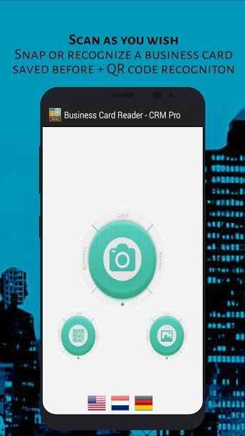 دانلود Business Card Reader - CRM Pro 1.1.145 - برنامه ذخیره اطلاعات کارت های بیزنس اندروید !