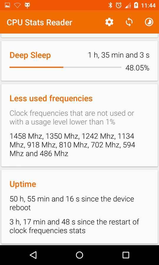 دانلود CPU Stats Reader Pro 1.5.45 - برنامه نمایش اطلاعات پردازنده اندروید