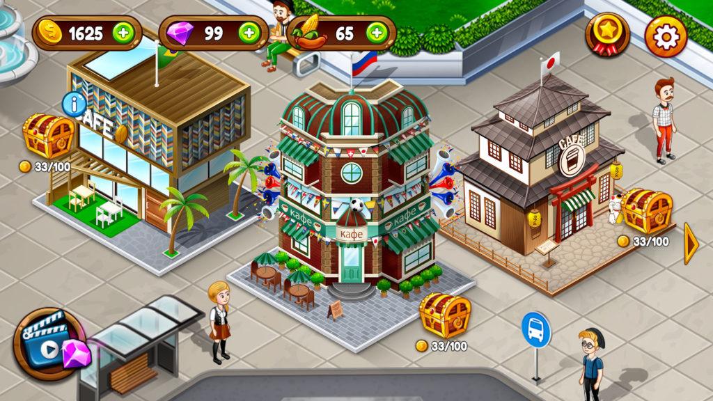 دانلود Cafe Panic: Cooking Restaurant 1.11.6a - بازی فوق العاده مدیریت کافی شاپ اندروید + مود