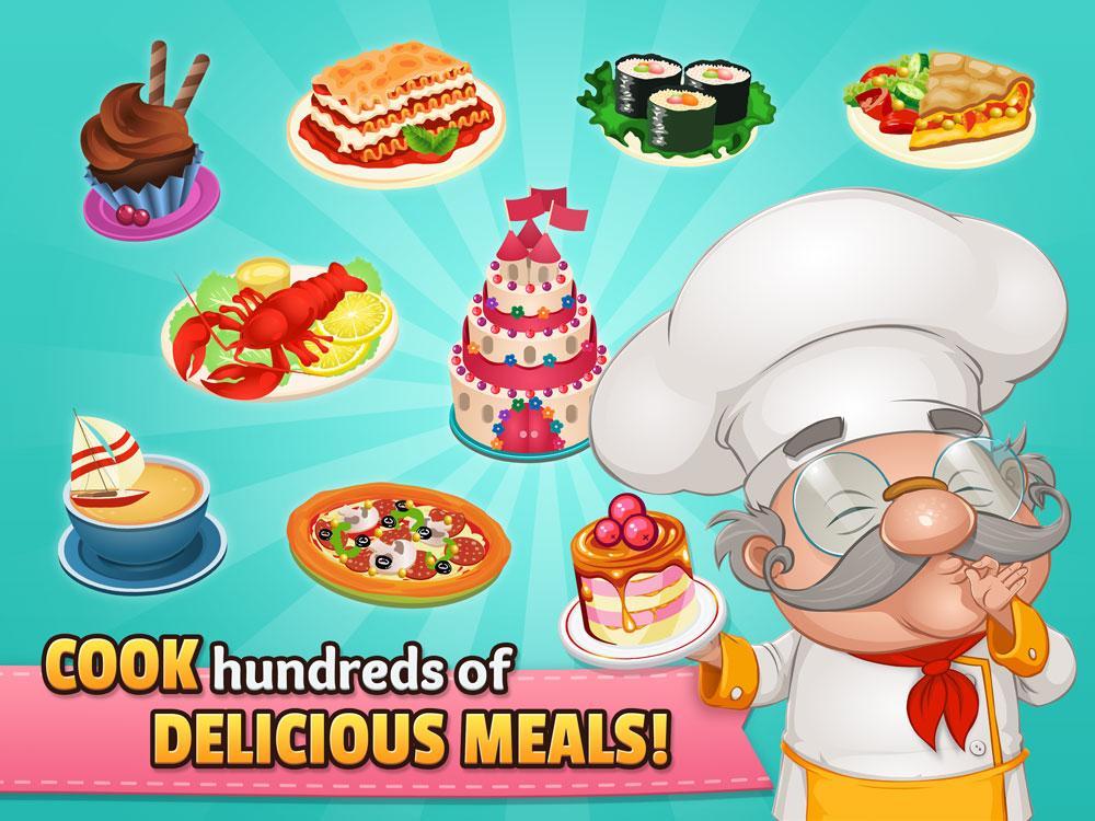 دانلود Cafeland - World Kitchen 1.9.8 - بازی مدیریت رستوران