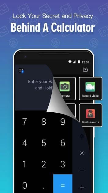 Calculator Lock – Lock Video & Hide Photo – HideX-1