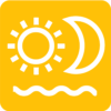 Calendar - Sun & Moon