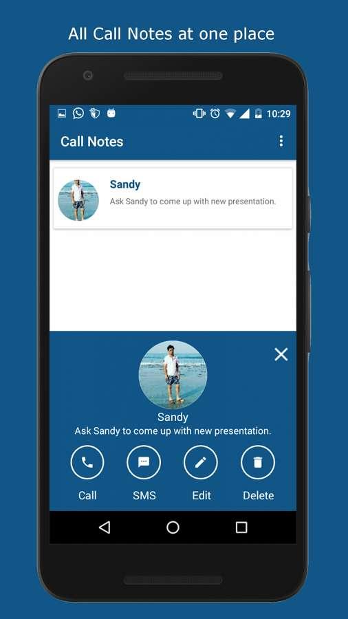 دانلود Call Notes - Don't forget what to say 1.0.1 - برنامه یادداشت تماس اندروید