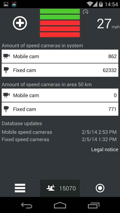 دانلود CamSam PLUS 3.3.0 - نقشه دوربین های کنترل سرعت اندروید