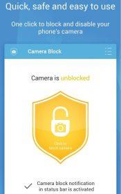Camera Block - Spyware protect