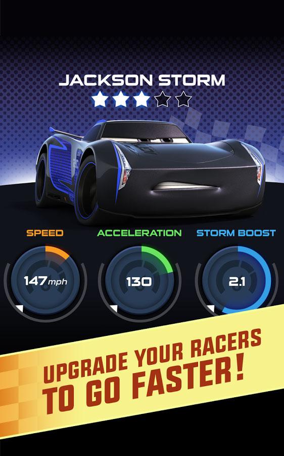 دانلود Cars: Lightning League 1.6 - بازی ماشین سواری