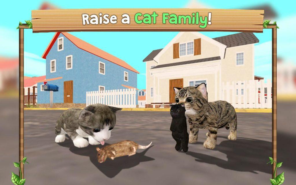 دانلود Cat Sim Online: Play with Cats 4.1 b29 - بازی شبیه سازی زندگی گربه ها اندروید + مود