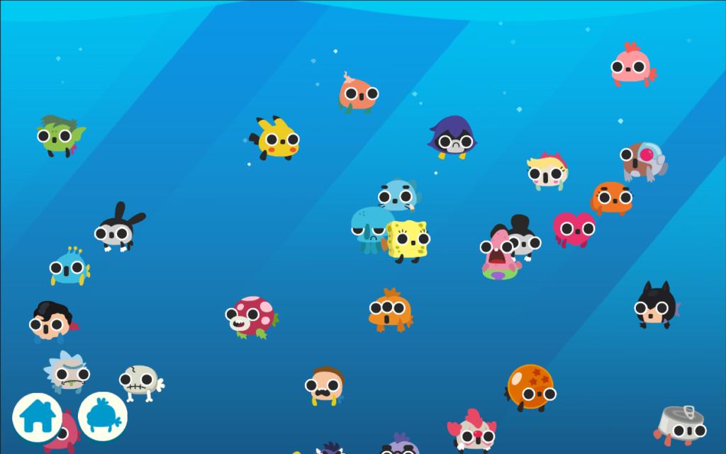 دانلود CatFish 1.0.55 - بازی سرگرم کننده گربه های ماهیگیر اندروید + مود