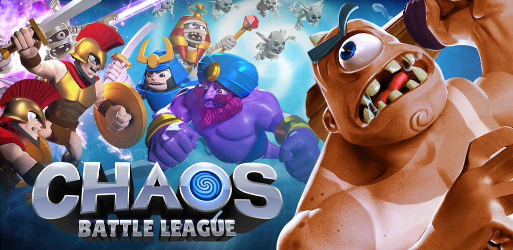 "Chaos Battle League Cover دانلود Chaos Battle League 1.3.3 – بازی استراتژی ""آشفتگی میدان نبرد"" آندروید + مود + دیتا"