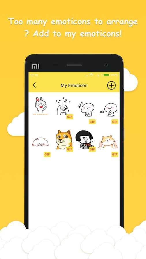 دانلود Chat Emoticons- Stickers (Pro) 1.0.6 - مجموعه استیکر و تصاویر گیف اندروید