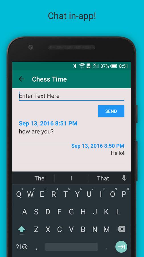 دانلود Chess Time Pro - Multiplayer 3.4.2.38 - بازی شطرنج آنلاین اندروید + رایگان