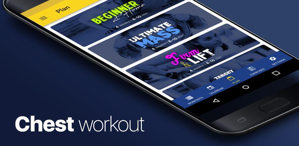 Chest workout – 4 week program Full