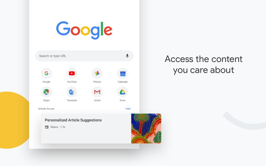 دانلود Google Chrome: Fast & Secure 76.0.3809.111 - مرورگر وب گوگل کروم اندروید !