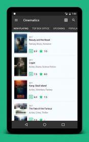 Cinematics Android App