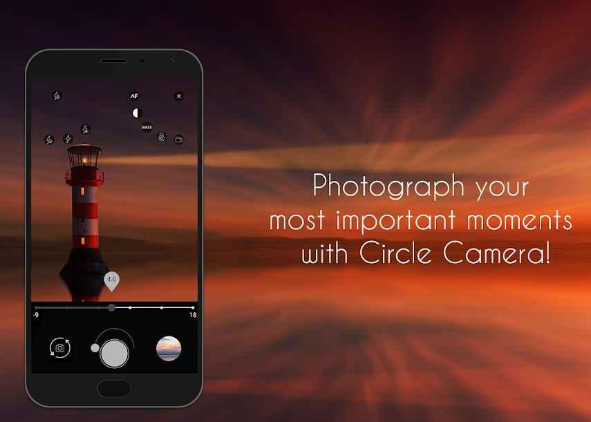 دانلود Circle Camera 2.10 - برنامه دوربین کامل و بی نقص مدور اندروید !