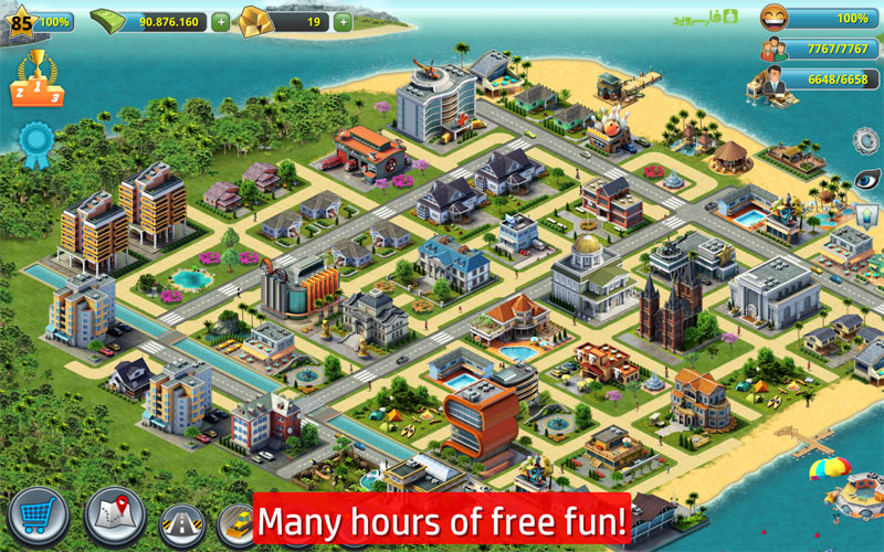 دانلود City Island 4: Sim Town Tycoon 1.10.1 - بازی سیتی ایسلند 4 اندروید + مود