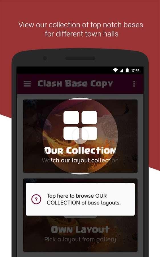 دانلود Clash Base Designer for COC 1.2.3 - بهترین نقشه ها کلش آف کلنز اندروید !