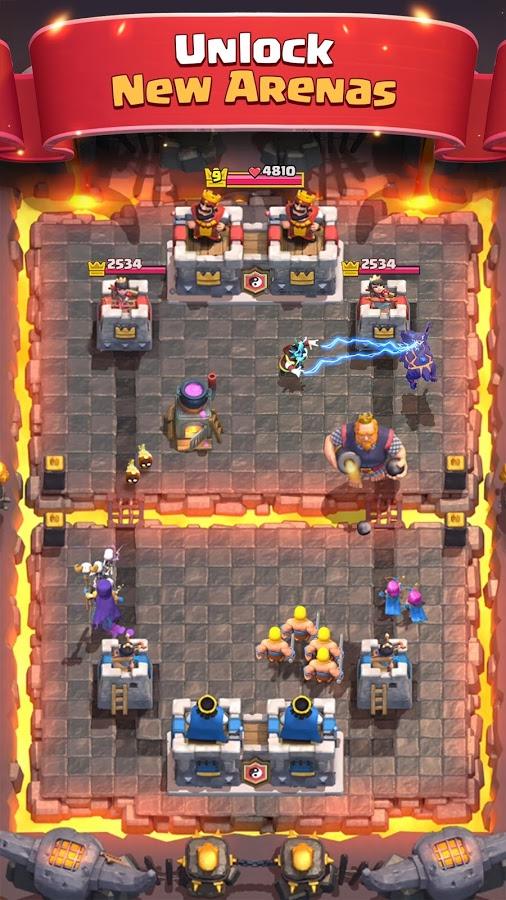 دانلود Clash Royale 2.9.0 - آپدیت بازی استراتژی