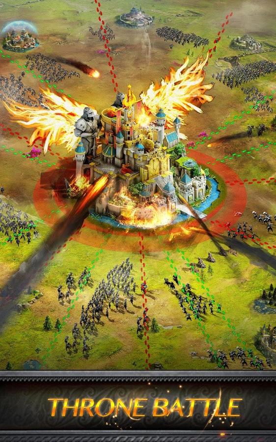 دانلود Clash of Queens: Light or Darkness 2.5.4 - بازی استراتژی نبرد ملکه ها اندروید !