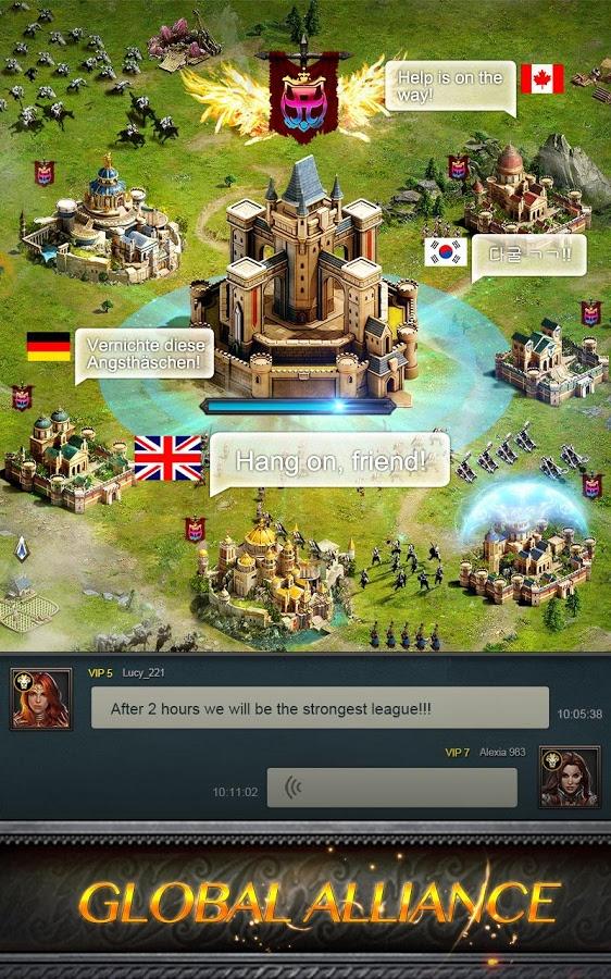 دانلود Clash of Queens: Light or Darkness 2.5.7 - بازی استراتژی نبرد ملکه ها اندروید !