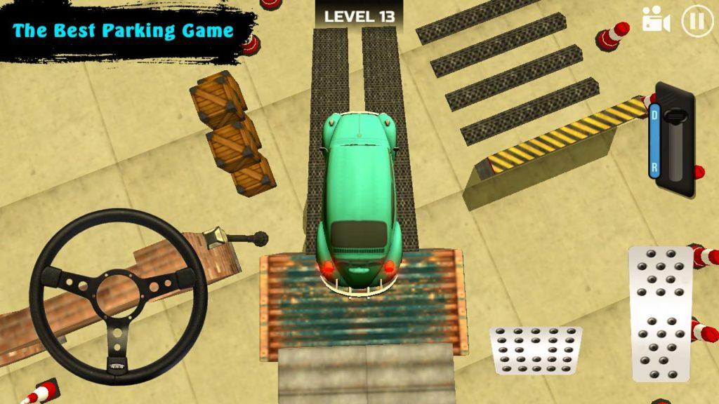 دانلود Classic Car Parking Real Driving Test 1.1 - بازی پارکینگ خودرو های کلاسیک اندروید !