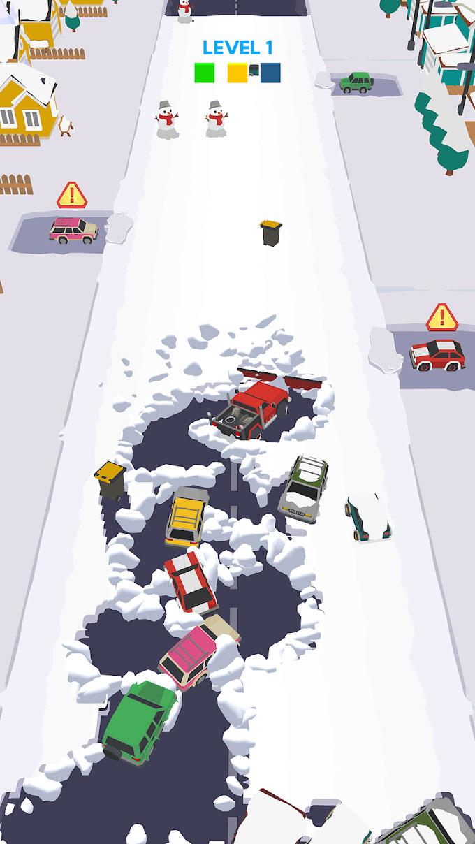 """دانلود Clean Road 1.5.1 - بازی آرکید پرطرفدار """"جاده صاف کن"""" اندروید + مود"""