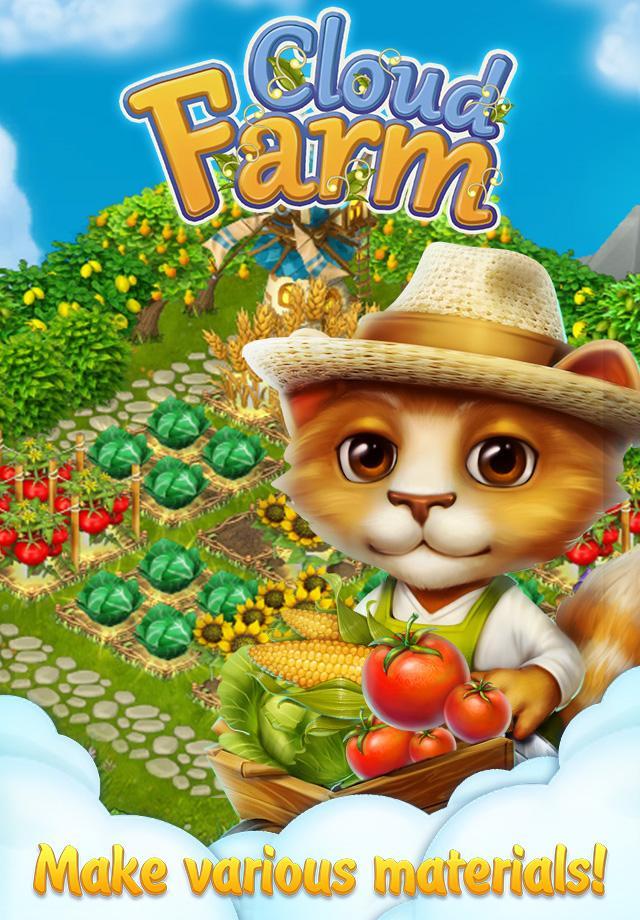 دانلود Cloud Farm 1.2.47.3 - بازی مزرعه ای در میان ابرها اندروید + مود