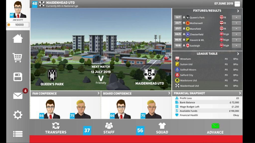 دانلود Club Soccer Director 2020 1.0.31 - بازی مدیر باشگاه فوتبال 2020 اندروید + مود
