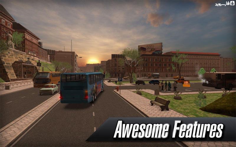 دانلود Coach Bus Simulator 1.7.0 - بازی شبیه ساز اتوبوس اندروید + مود