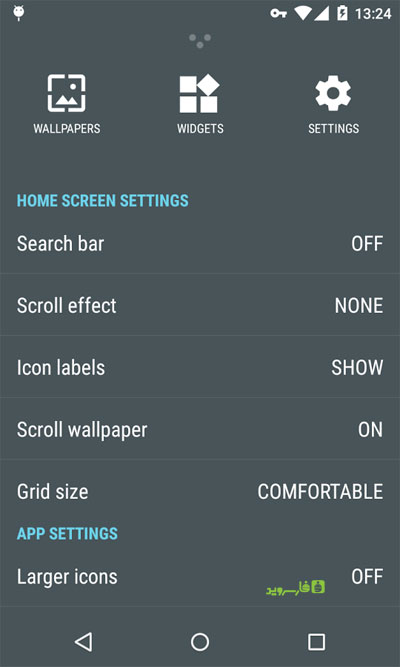 دانلود Cold Launcher 10.1 - لانچر عالی با امکان فریز کردن برنامه ها اندروید