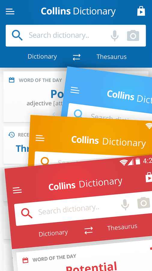 دانلود Collins English and Thesaurus Full 10.0.411 - دیکشنری انگلیسی کالینز اندروید + دیتابیس