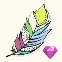Coloring Diorama-Logo
