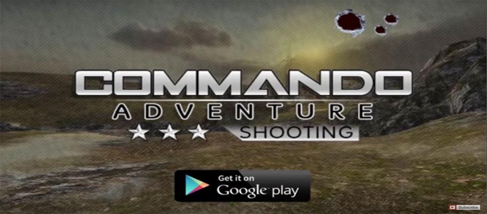 """دانلود Commando Adventure Shooting - بازی اکشن """"ماجراجویی تکاور"""" اندروید + مود"""