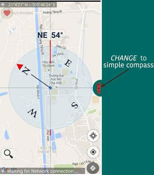دانلود Compass Coordinate Pro 3.85 - قطب نما هوشمند و پیشرفته اندروید