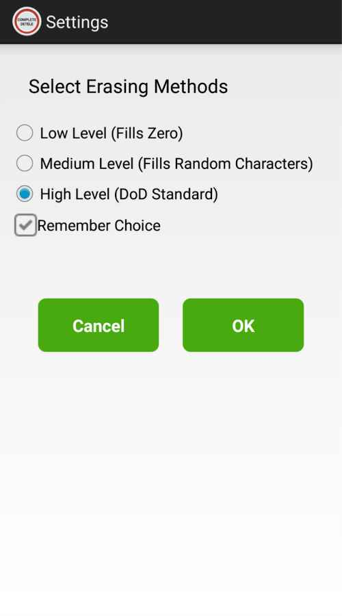 دانلود Complete Delete 1.0 - برنامه حذف دائمی فایل ها اندروید !