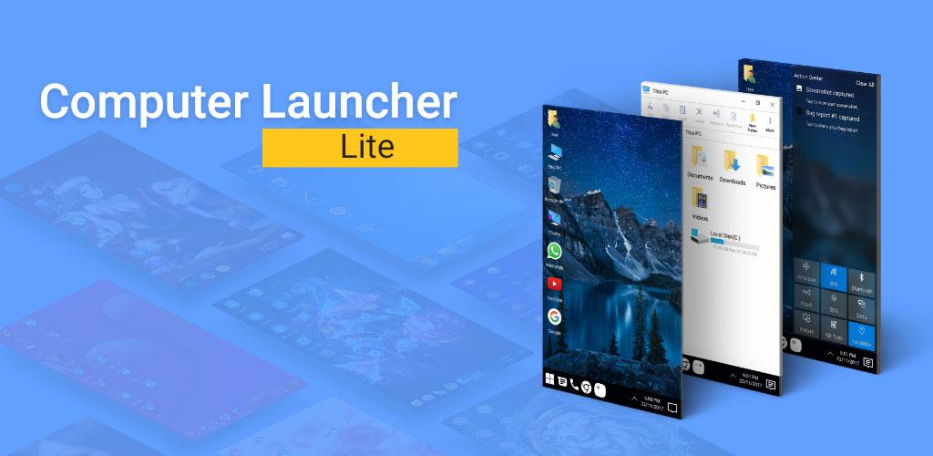 Computer Launcher Lite