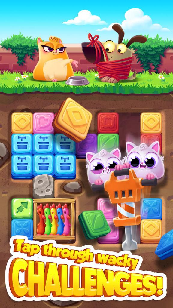 دانلود Cookie Cats Blast 1.24.0 - بازی پازل