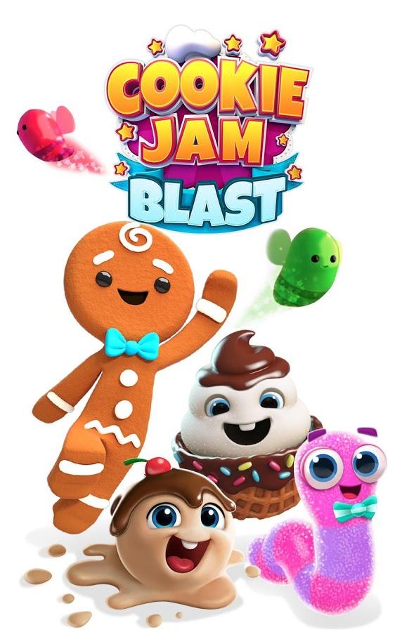 دانلود Cookie Jam Blast 3.10.134 - بازی محبوب پازل کلوچه ها اندروید + مود