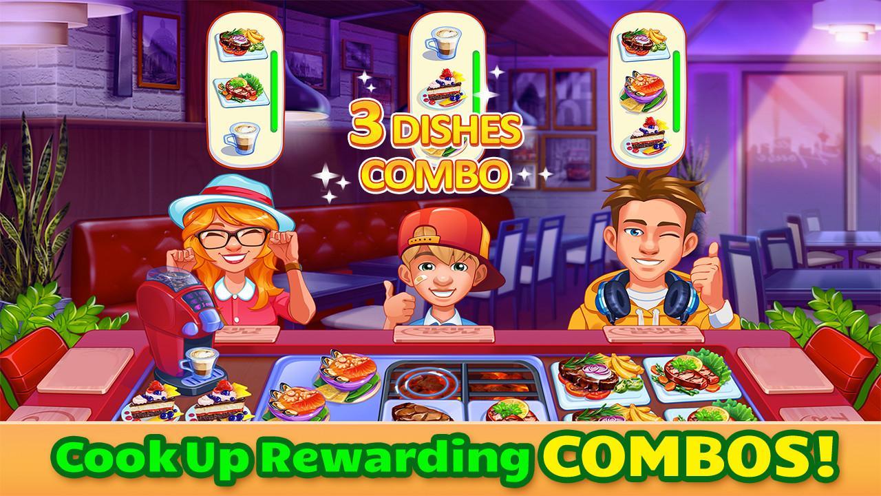 دانلود Cooking Craze 1.19.0 - بازی آشپزی